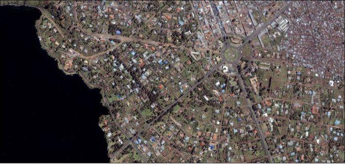 Города. Вид сверху (22 фото)