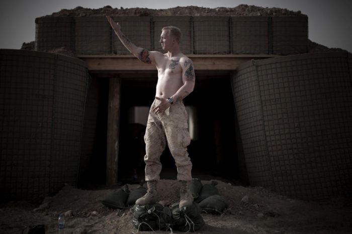 Татуировки американских морпехов в Афганистане (18 фото)