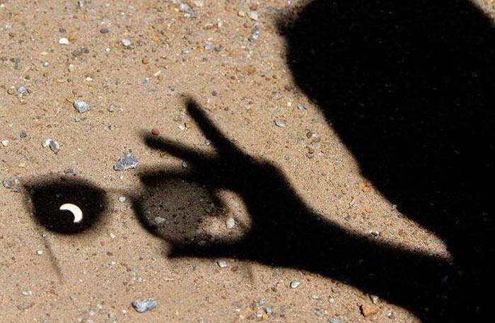 Солнечное затмение в Азии и Африке (14 фото)