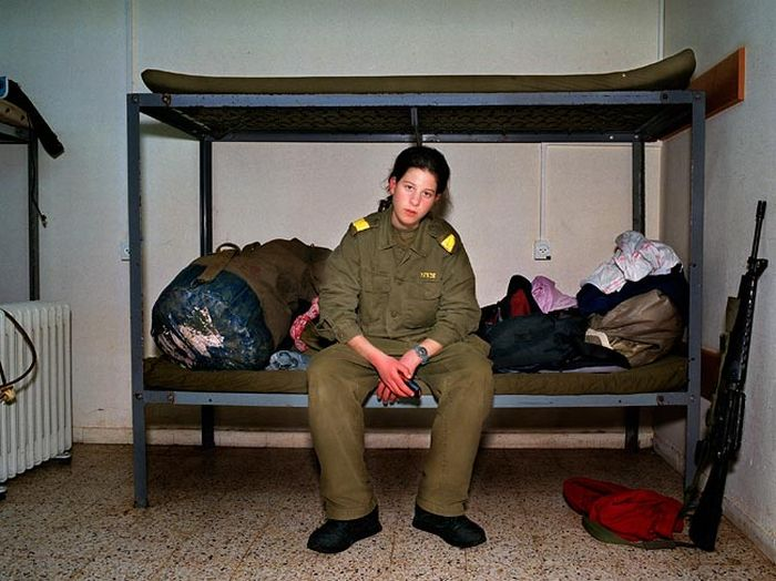 Девушки израильской армии (72 фото)