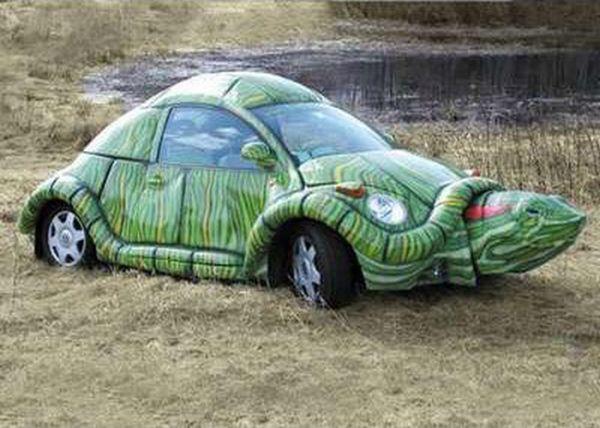Автомобили-мутанты (25 фото)