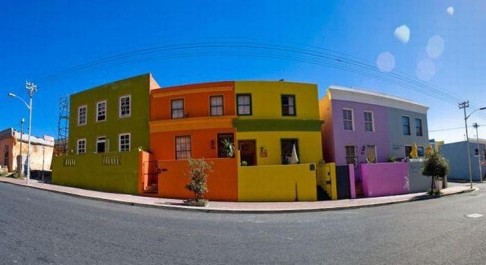 Дома-радуги (30 фото)