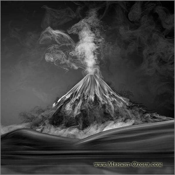 Работы с дымом (46 фото)