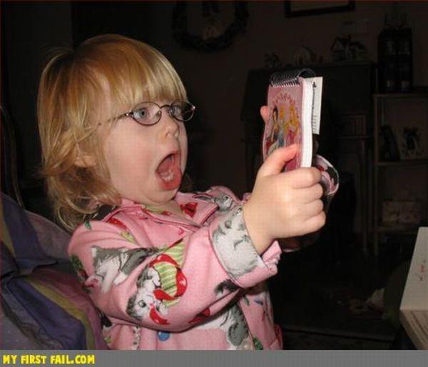 Смешные лица детей (80 фото)