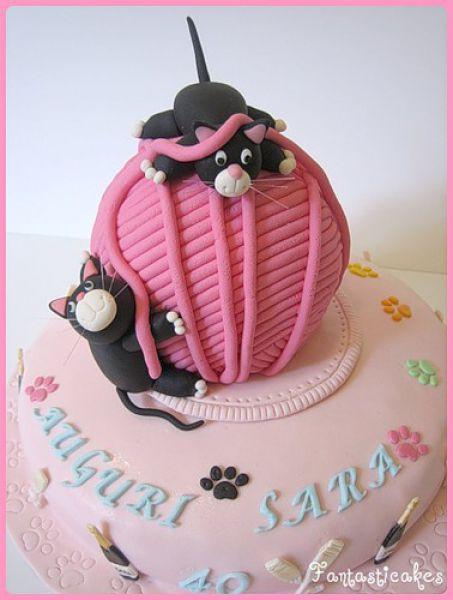 Потрясающие торты для дней рождений (42 фото)