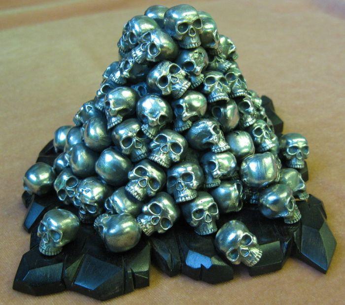 Скульптура Смерти (7 фото)