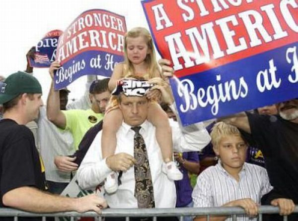 Дети и политики (35 фото)