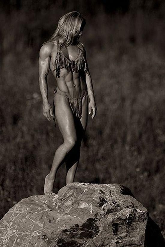 Сильные девушки (28 фото)