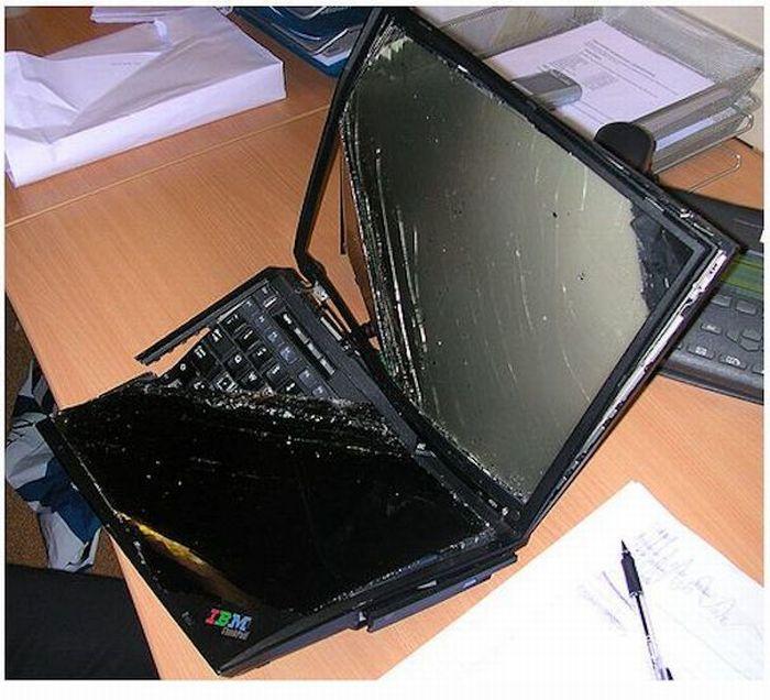 Убитые ноутбуки.  Разное.
