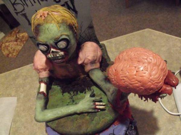Торт-зомби (13 фото)