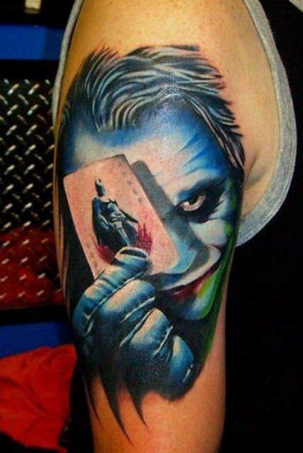 Татуировки с супергероями (83 фото)