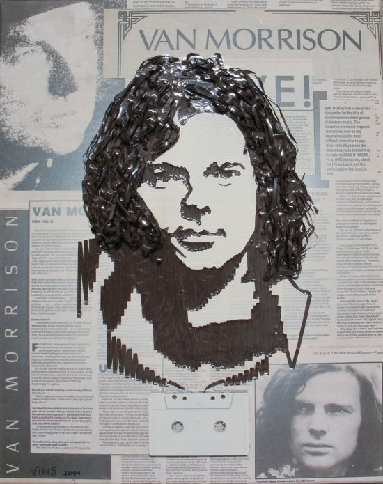 Портреты из кассетной пленки (31 фото)