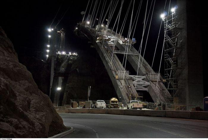 Мост у плотины Гувера (33 фото)