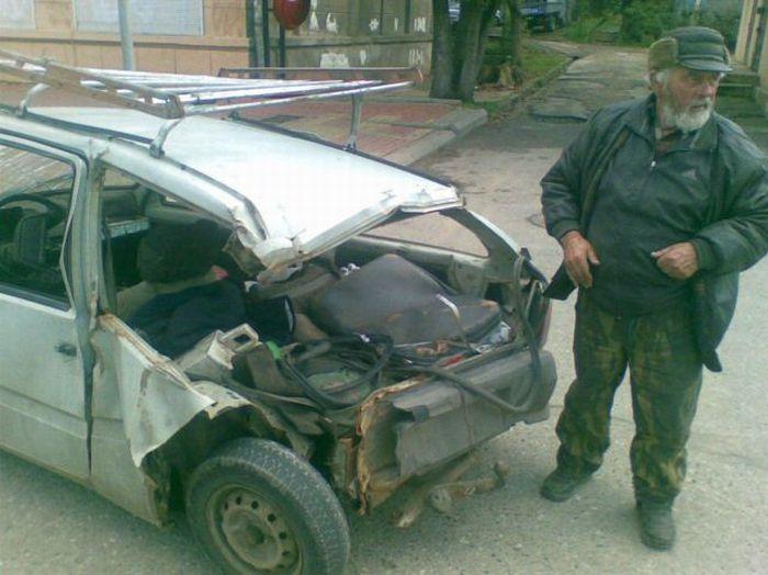 Дедуля едет в Краснодар (6 фото + видео)