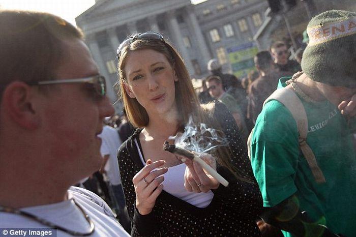 В США прошли акции за легализацию марихуаны (31 фото)