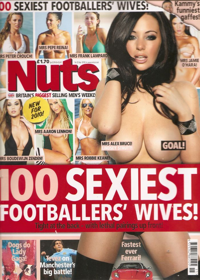 100 самых сексуальных жен футболистов 2010 (15 сканов) НЮ!