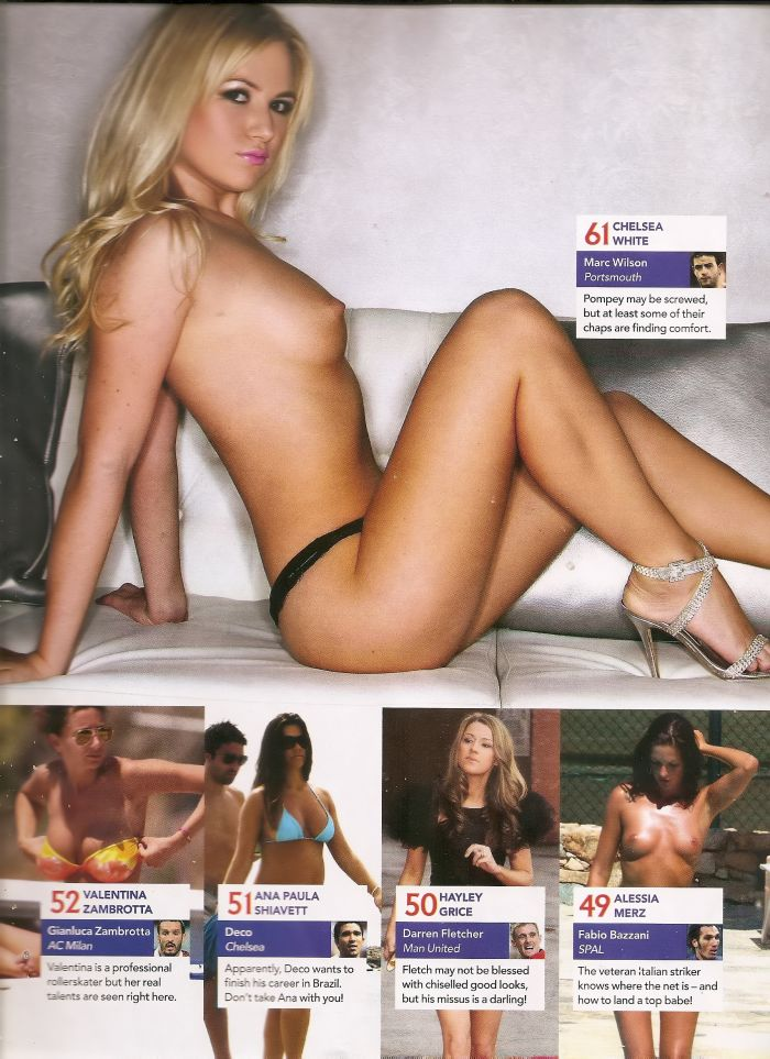 Фото голые жены русских футболистов