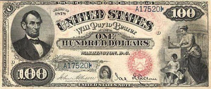 Как менялась 100-долларовая купюра в течении 150 лет (23 фото)