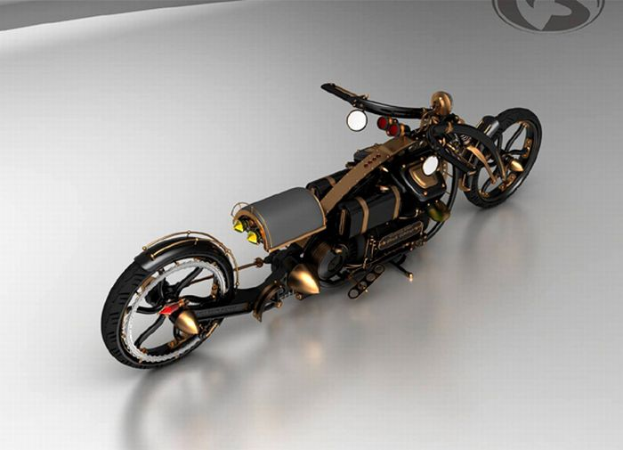 Крутые концептуальные мотоциклы (29 фото)