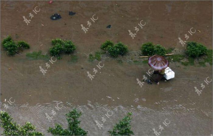 Наводнение в Китае (31 фото)