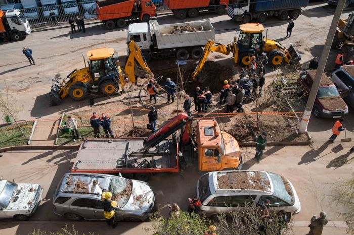 Вчерашний взрыв в Москве (17 фото)