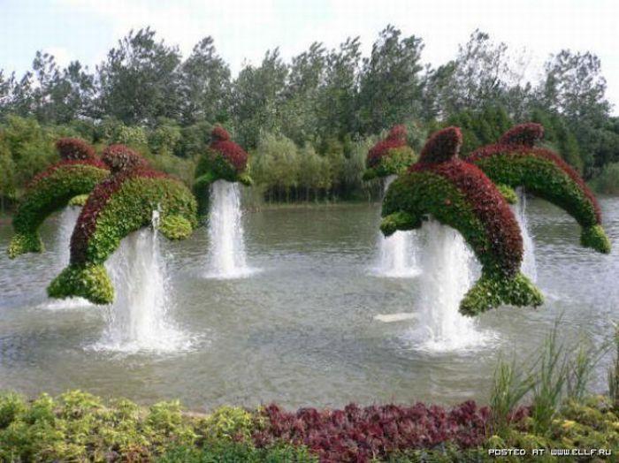 Красивый парк (35 фото)