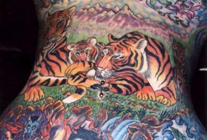 Японские татуировки (13 фото)
