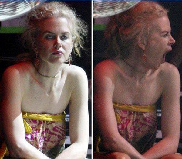 Неудачные фотографии иностранных знаменитостей (54 фото)