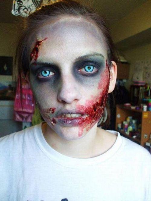 Самые страшные костюмы зомби (12 фото)