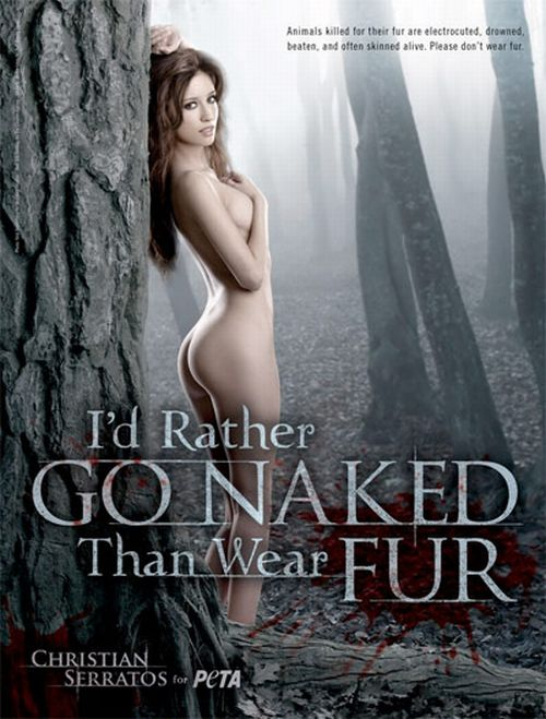 Красивые и известные активистки PETA (24 фото)