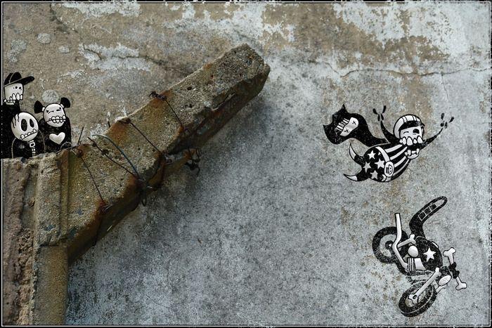 Забавные скелеты (33 фото)