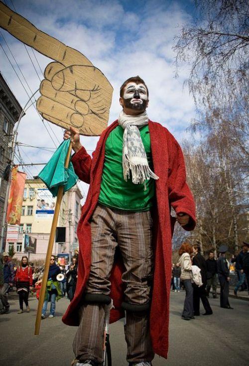 Монстрация 2010 в Новосибирске (33 фото)
