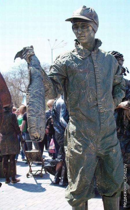 Чемпионат живых скульптур в Евпатории 2010 (57 фото)