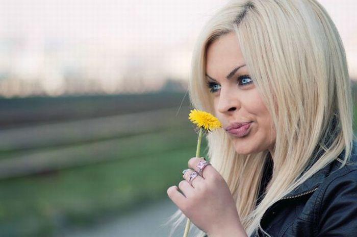 Красивые европейские девушки (95 фото)