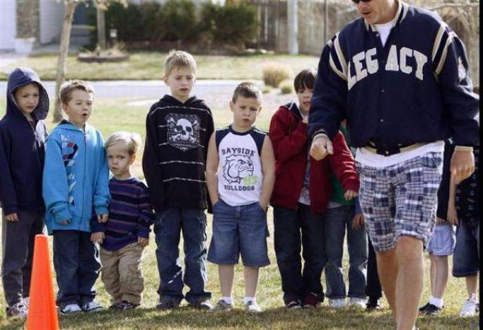 Маленькие люди Америки (35 фото)