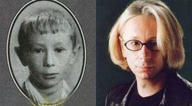 Наши знаменитости в детстве и сейчас