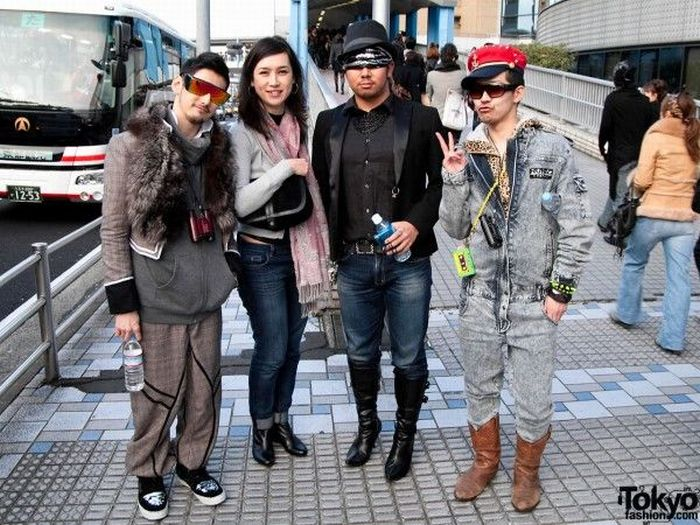 Фанатки Lady Gaga в Токио (79 фото)