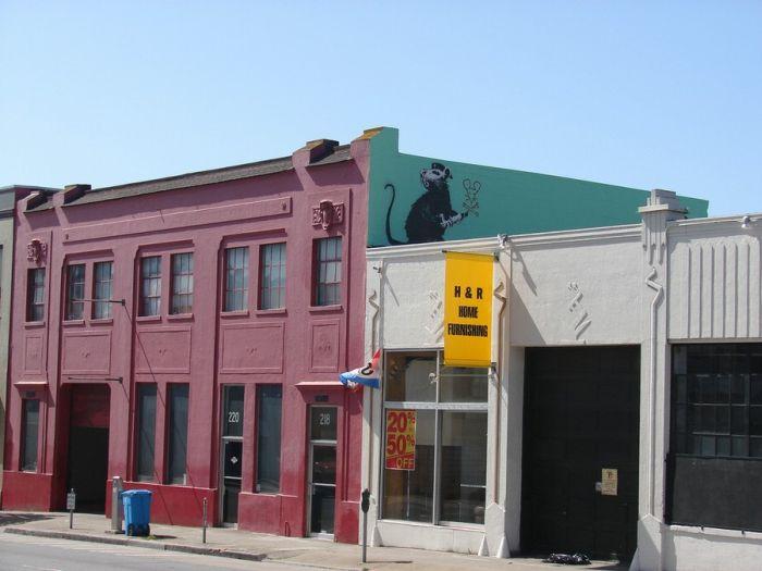 Банкси в Сан Франциско (18 фото)