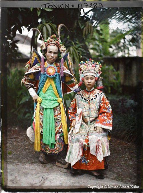 Начало 20го века в цветных фотографиях (66 фото)