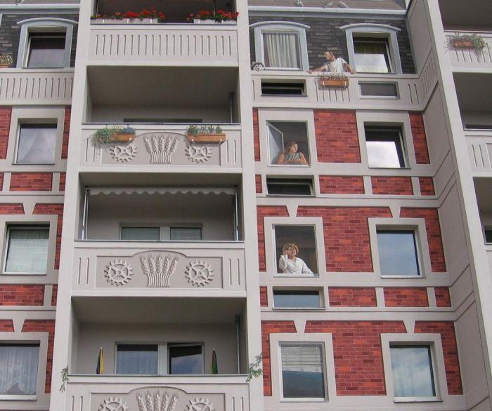 Красивый многоэтажный дом в Берлине (11 фото)