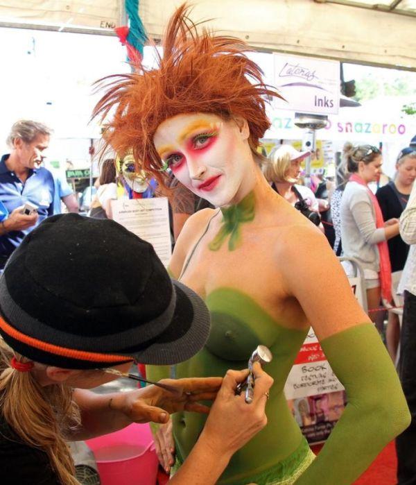 Фестиваль бодиарта в Австралии (25 фото)