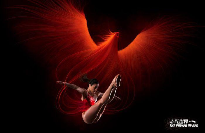 китайская гимнастка