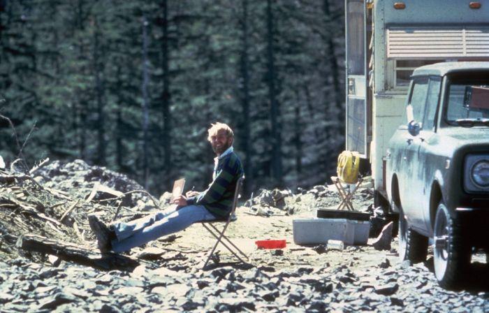 Извержение вулкана Сент-Хеленс, 1980 год (35 фото)