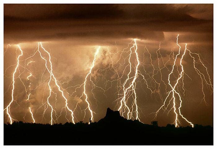 Красивые фотографии молний (37 фото)
