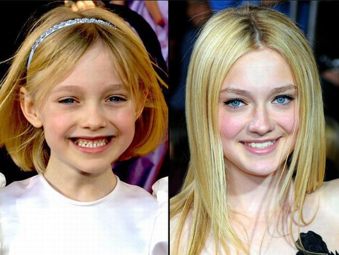 Фотографии звезд в детстве и сейчас (46 фото)