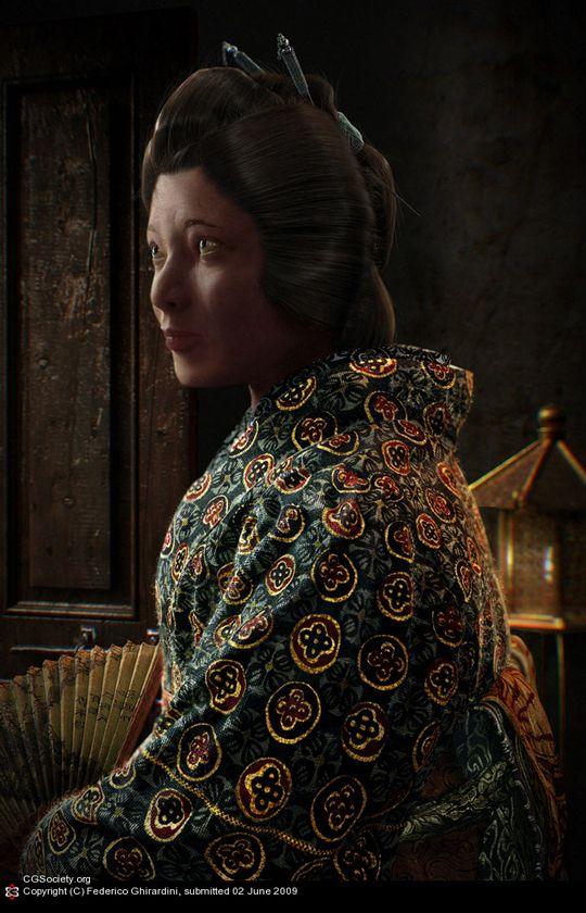 Потрясающие 3D портреты (33 фото)