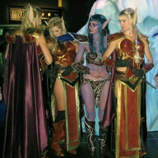 Девушки-косплейщицы в стиле World of Warcraft (25 фото)