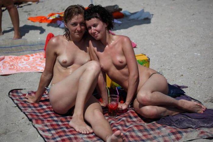 Девушки с Казантипа (79 фото) НЮ