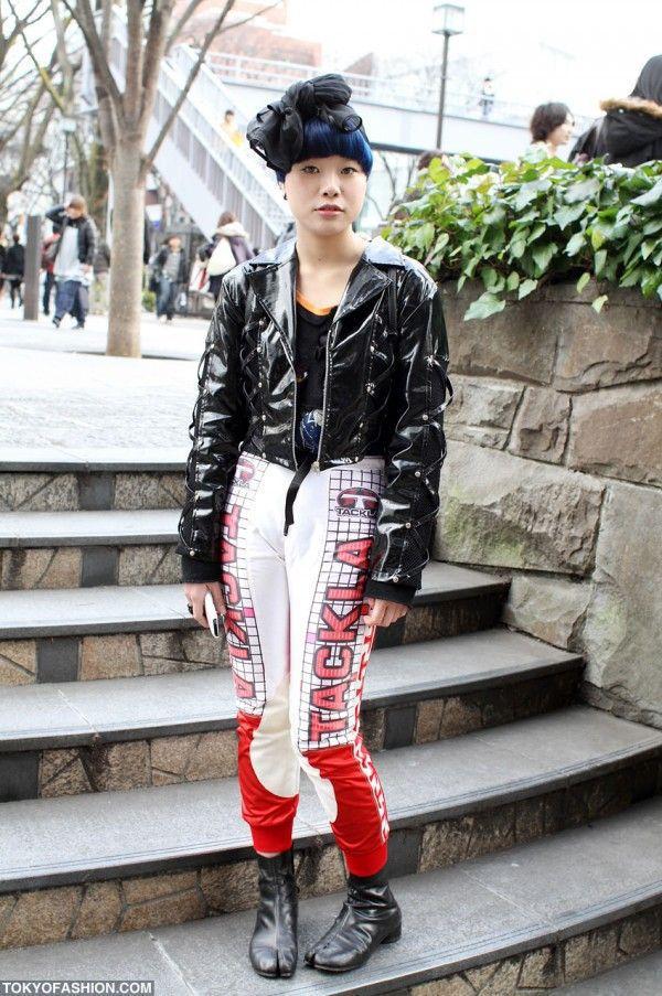Необычная мода в Токио (77 фото)