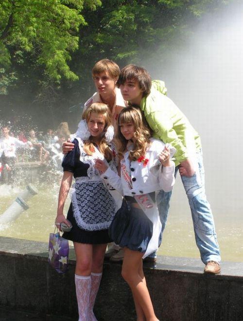Сексуальные выпускницы 2009